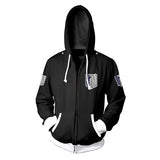 Attack On Titan Animated Survey Corps Hoodie