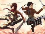 Attack on Titan Mikasa Ackerman Cosplay Costume Full Set