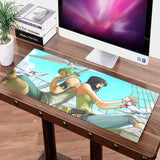 One Piece Nico Robin x Roronoa Zoro Big Mouse Pad