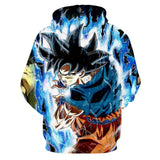 Dragon Ball Z Goku Energy Attack Hoodie