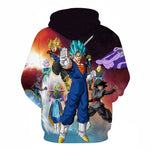 Dragon Ball Z Goku Super Saiyan Blue Universe Hoodie