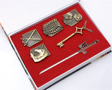 Attack on Titan Cosplay Badge Gift Set