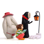 Studio Ghibli Spirited Away Chihiro Radish Spirit & No Face Model Figure