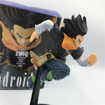 Dragon Ball Z Android 17 Action Figure Sprinting