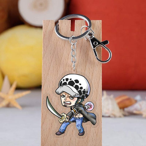 One Piece Trafalgar D. Water Law Keychain