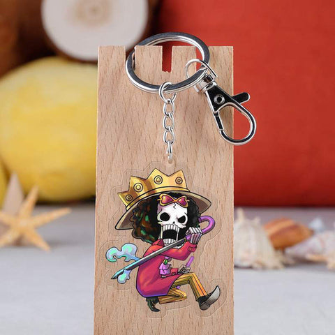 One Piece Brook Keychain