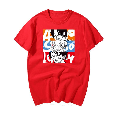 One Piece Ace Sabo Luffy T-Shirt
