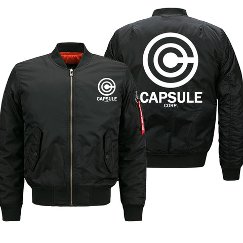 Dragon Ball Z Capsule Corp Bomber Jacket