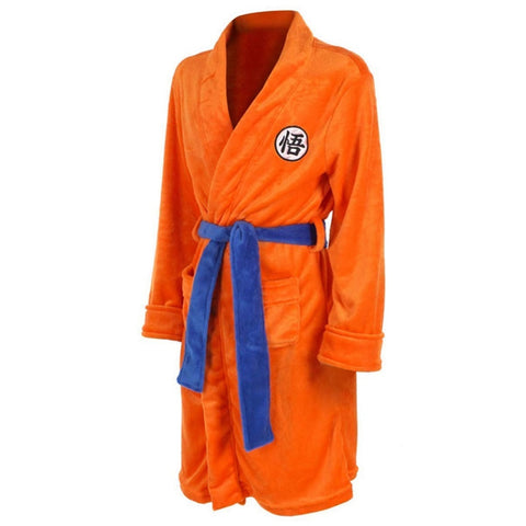 Dragon Ball Z Son Goku Bathrobe Cosplay