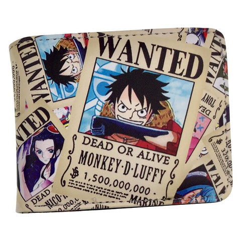 One Piece Dead or Alive Wanted Wallet