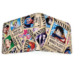 One Piece Monkey D. Luffy Jolly Roger Wallet