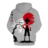 One Piece Monkey D. Luffy Japan Hoodie