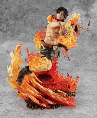 One Piece Portgas D. Ace Fire Attack Action Figure