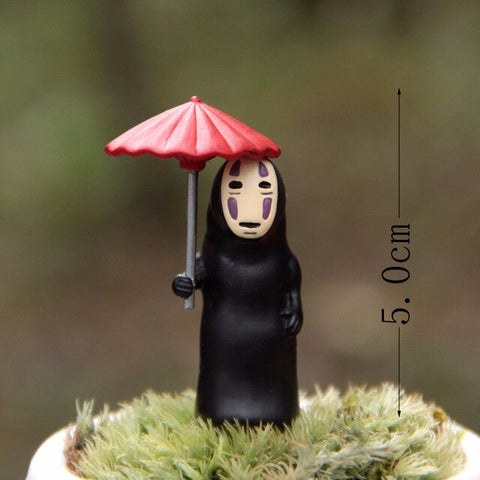 Studio Ghibli Spirited Away No Face with Yubaba Figure Model