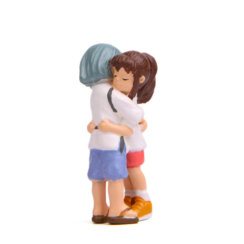 Spirited Away Sen Chihiro and Haku Hug Model Figure