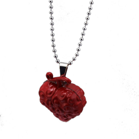 One Piece Devil Fruit Ope Ope no Mi Pendant Necklace