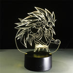 Dragon Ball Z Goku Super Saiyan 3 LED Lamp Figure