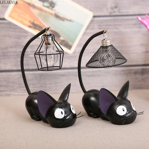 LED Night Light Kiki's Delivery Service Jiji Black Cat Figure