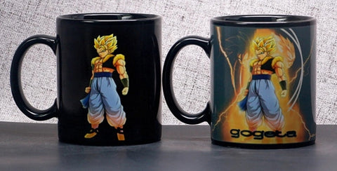 Dragon Ball Z Gogeta Heat Sensitive Color Changing Mug Cup