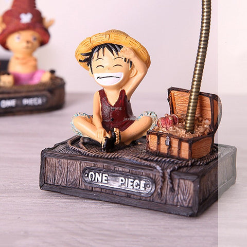 One Piece Monkey D. Luffy Table Lamp Figure