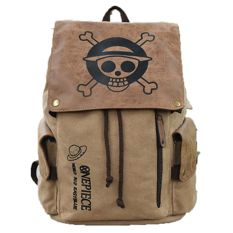 One Piece Straw Hat Pirates Jolly Roger Backpack