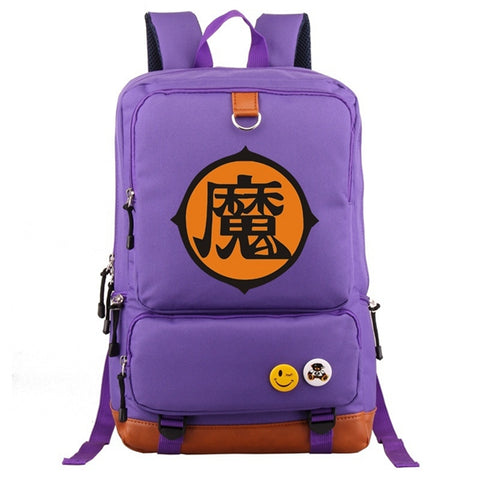 Dragon Ball Z King Piccolo Ma Kanji Oxford Backpack
