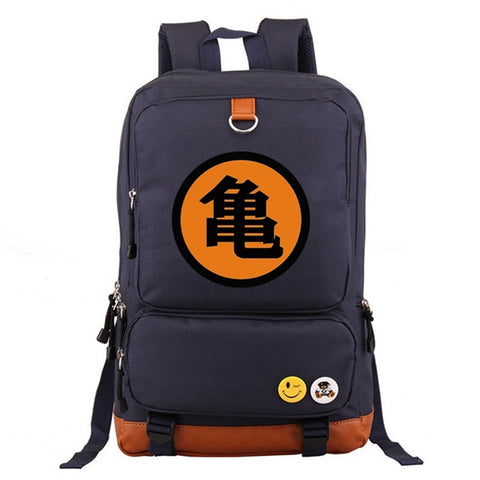 Dragon Ball Z Master Roshi Turtle Kanji Backpack