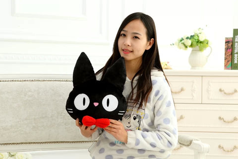 Kiki's Delivery Service Jiji Cat Cartoon Soft Stuffed Pillow Cushion