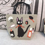 Kiki's Delivery Service Cartoon Makeup Bag Clutch