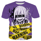 My Hero Academia Himiko Toga Warning T-Shirt
