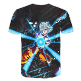 Dragon Ball Z Goku Super Saiyan White Kamehameha T-Shirt