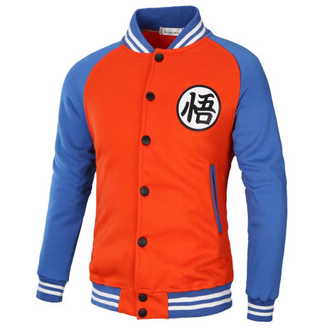 Dragon Ball Z Supreme Varsity Jacket