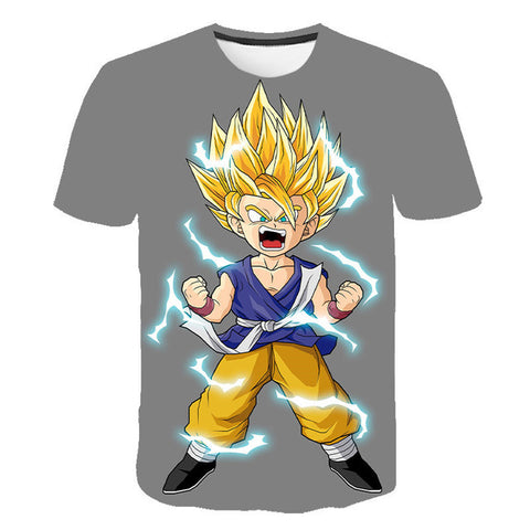 Dragon Ball Z Gohan Super Saiyan Transformation T-Shirt