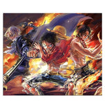 One Piece Sabo Luffy Ace Mouse Pad