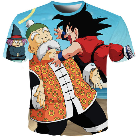 Dragon Ball Z Fortuneteller Baba Kid Goku T-Shirt