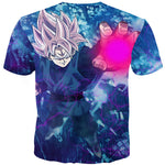 Dragon Ball Z Goku Black Rose T-Shirt