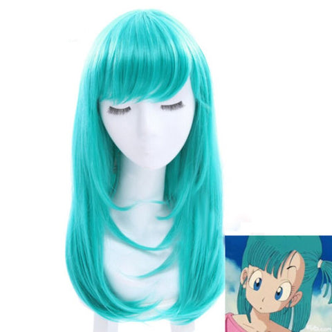Dragon Ball Z Bulma Cosplay Wig
