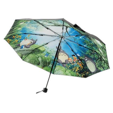 My Neighbor Totoro Studio Ghibli 3-Fold Umbrella