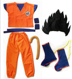 Dragon Ball Z Son Goku Complete Cosplay Costume Child/Adult