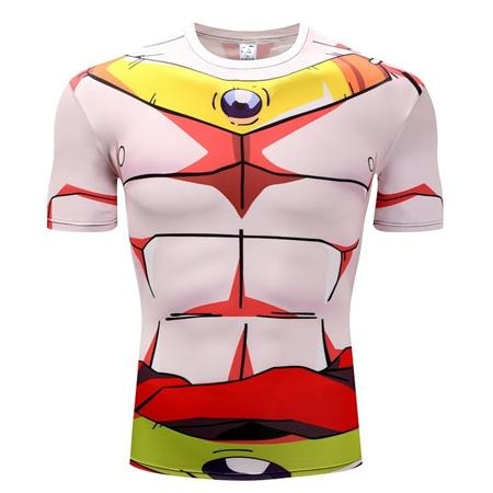 Dragon Ball Z Legendary Saiyan Broly Compression Workout T-Shirt