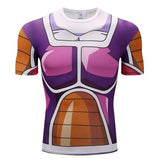 Dragon Ball Z Frieza Classic Body Armor Compression Gym T-Shirt