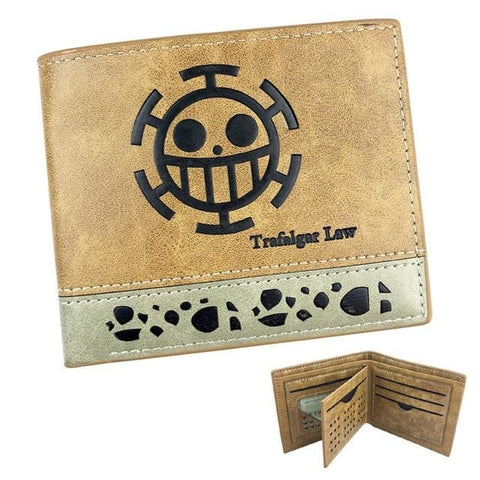 One Piece Trafalgar D. Water Law Jolly Roger Wallet
