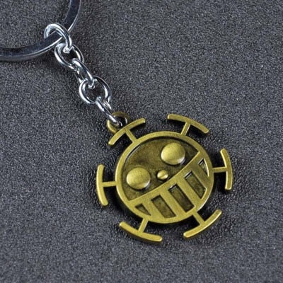 One Piece Trafalgar Law Jolly Roger Keychain