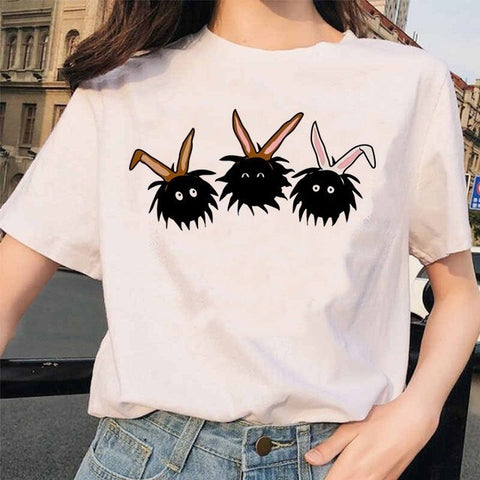 Spirited Away Susuwatari T-Shirts