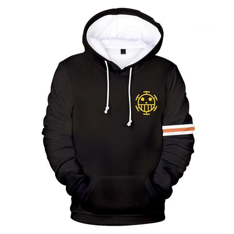 One Piece Trafalgar D. Water Law Corazon Hoodie