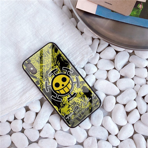 One Piece Trafalgar D. Water Law Jolly Roger iPhone Case