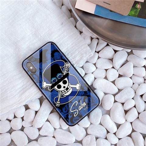 One Piece Sabo Jolly Roger iPhone Case