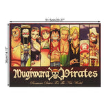 One Piece Mugiwara Strawhat Protagonist Portrait Collection Poster