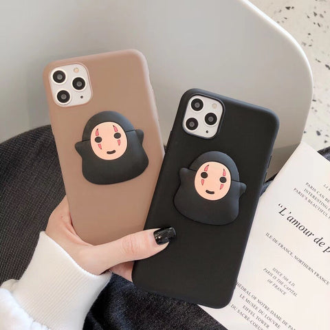 Studio Ghibli Spirited Away No Face iPhone & Samsung Phone Case