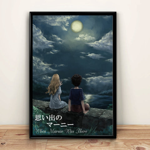 When Marnie Was There Anime Canvas Wall Art